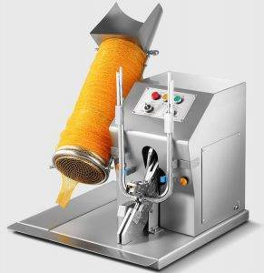 Electric-Mesh-Bag-Clipping-Machine-with-Mesh-Bag-Tube