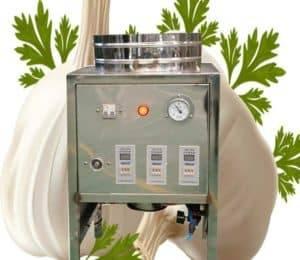 Pneumatic 10kgh Garlic Peeling Machine for Sale
