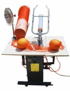 Pneumatic Type Semi-Automatic Garlic Mesh Bag Clipping Machine
