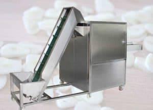 1000KGH Automatic Garlic Slicing Machine
