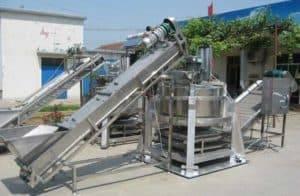 Automatic-Centrifugal-Type-Sliced-Garlic-Dehydrate-Machine