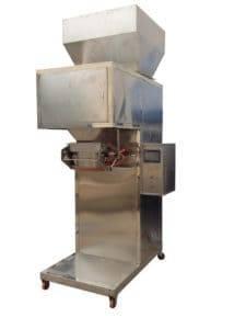 Full Stainless Steel Dehydrate Garlic Slice Weigher Packing Machine