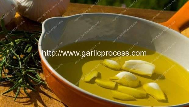 Garlic Oil Application
