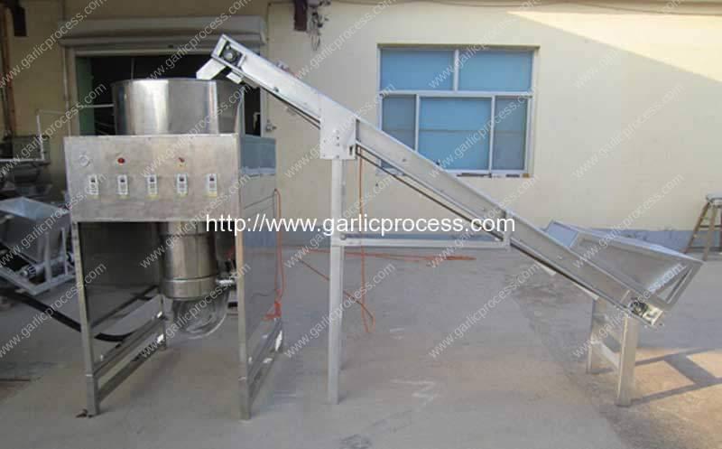 1000KGH Drum Type Garlic Peeling Machine for Sale