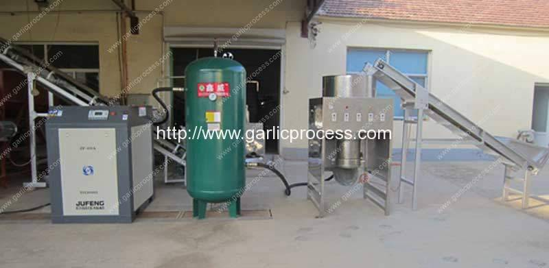 How-to-Connect-Drum-Type-Garlic-Peeling-Machine-Working