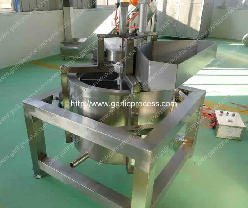 Continuous-Working-Garlic-Slice-De-Watering-Machine