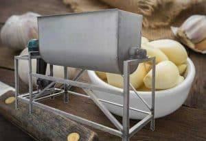 Automatic Water Type Garlic Peeling Machine for Sale