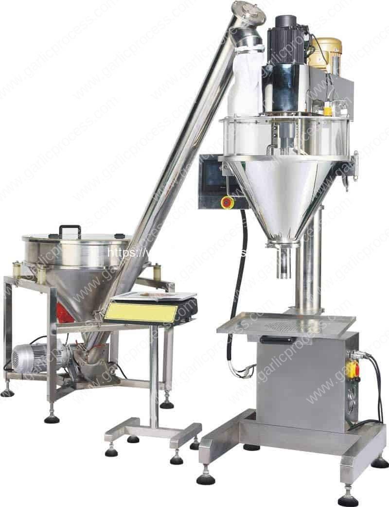 Auger-Filler-Type-Powder-Filling-Machine-with-Screw-Feeding-Hopper