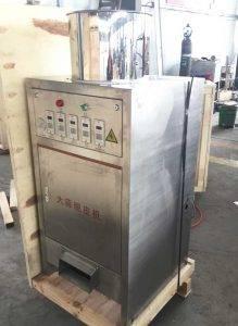 100KGH-Stainless-Steel-Garlic-Peeling-Machine-for-Portugal-Customer