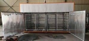 Batch-Type-Electric-Type-Garlic-Slice-Dryer-Oven-Internal-Trolley