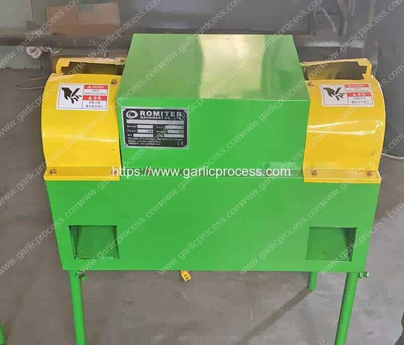 Garlic-Root-and-Leaf-Cutting-Machine-for-Greece-Customer