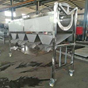 Rotary Garlic Seeds Size Sorting Machine for Thailand Customer