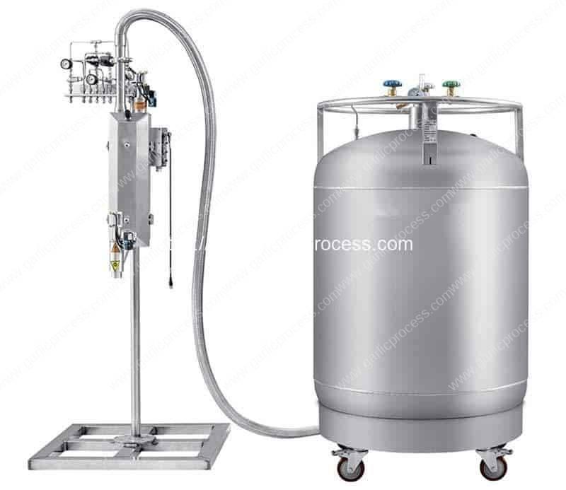 Automatic-Bottle-Liquid-Nitrogen-Filling-Dosing-Machine