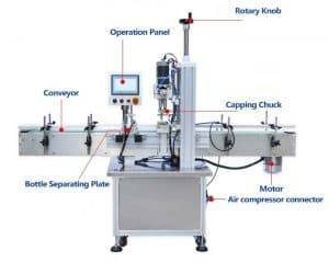 Full-Automatic-Garlic-Clove-Bottle-Jar-Capping-Machine