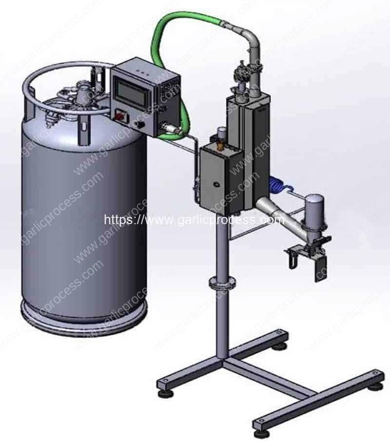 Garlic-Clove-PET-Jar-Liquid-Nitrogen-Dosing-Machine