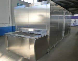 Full-Automatic-Tunnel-Type-Garlic-Clove-Instant-Freezer