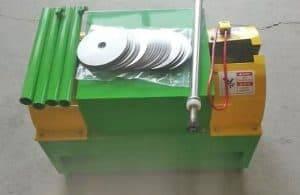 Garlic Stem and Root Cutter Machine for Canada Customer